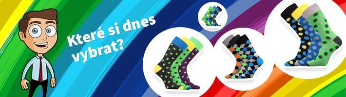 99e8913b991 CRAZY - farebné ponožky - Ponožkožrout.sk