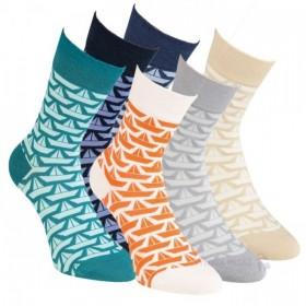 1810baed90c Dámske zdravotné farebné bambusové ponožky RS - Ponožkožrout.sk
