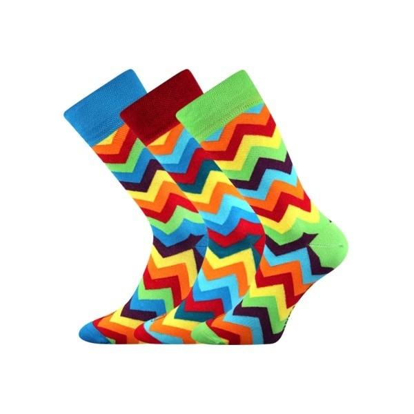 a16b69b0ad92c WATT originální barevné ponožky Lonka - Ponožkožrout.sk