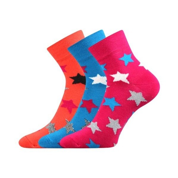 JANA dámske farebné ponožky - MIX 44 - Ponožkožrout.sk d249ab889b