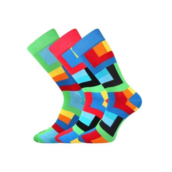 WEAREL 013 pánske ponožky farebné Lonka - KOSTKY - Ponožkožrout.sk bb4b0c64df