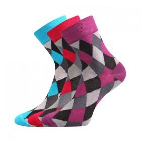 61ad9fc862cb0 IVANA dámske farebné ponožky Boma - MIX 51 - Ponožkožrout.sk