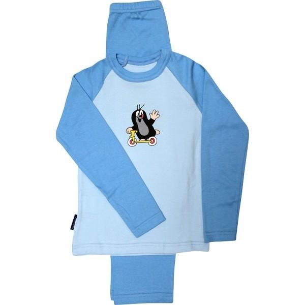 KR 007 detské pyžamo s dlhým rukávom Boma - Ponožkožrout.sk 7b079a47d1
